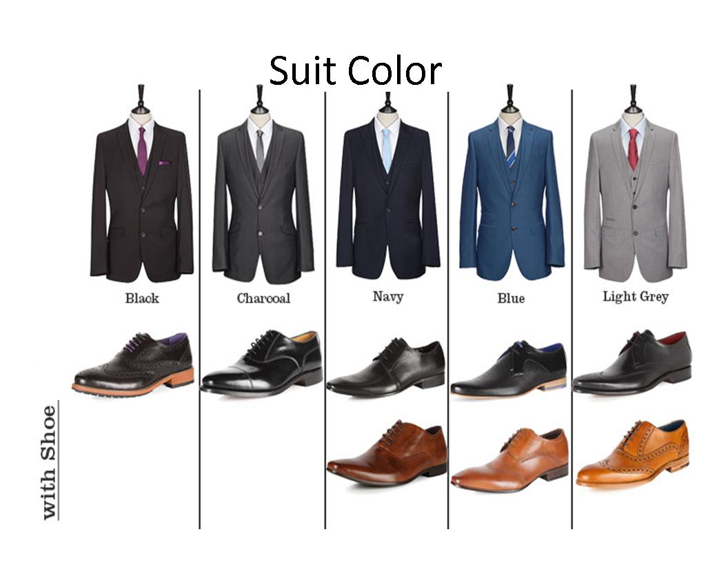Suit Shoes colors Boston